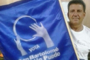 Paco Molina, concejal de SBTP en el Ayuntamiento de SBT