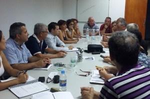 Reunión de la Plataforma por una Salud Digna