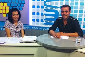Isabel Santiago y Airam Guedes