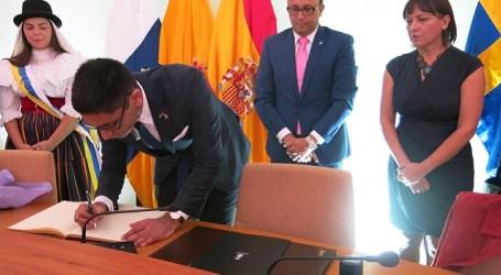 El hermanamiento de Santa Lucía con Lulea impulsará la colaboración cultural