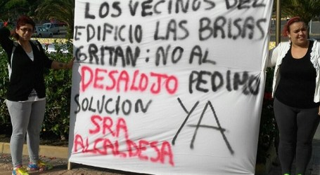 """Vecinos de """"Las Brisas"""", en lucha porque se respete su contrato legal de alquiler"""