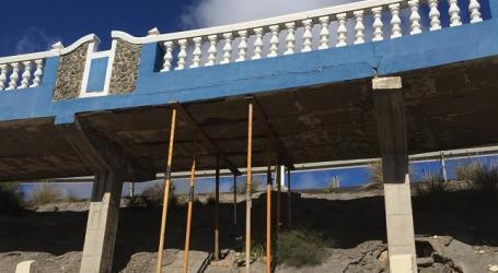 Nueva Canarias alerta del mal estado del paseo de Patalavaca-Anfi