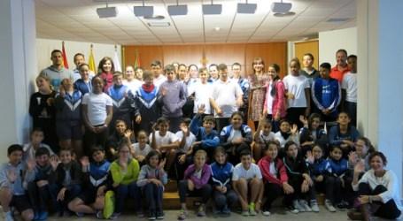 Escolares del CEIP Tajinaste escriben una carta a Dunia González