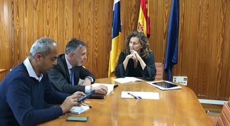 Gobierno y Cabildo coordinan actuaciones para evitar retrasos en la obra de La Aldea