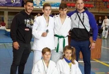 El tirajanero Judo Club Bushikan se trae tres medallas del Campeonato de Canarias