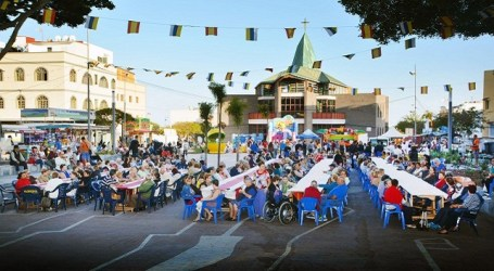 400 mayores disfrutaron de la gala en las fiestas patronales de El Tablero
