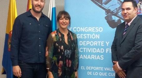Santa Lucía acoge el V Congreso de Gestores de Deportes con 200 inscritos