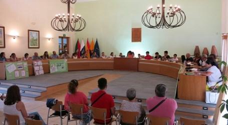 El Consejo Local de la Infancia propone mejoras para el municipio de Santa Lucía
