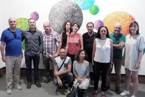 Artistas, artesanos y concejales en la Casa Condal de Maspalomas