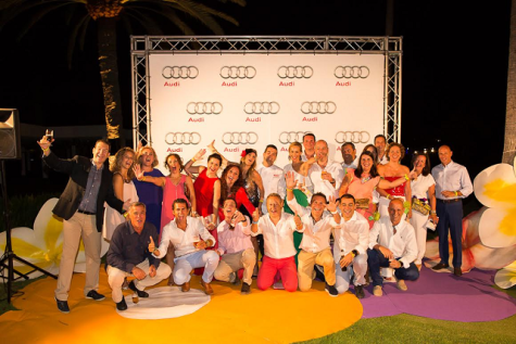 Audi Golf Night by Mahou & Lopesan