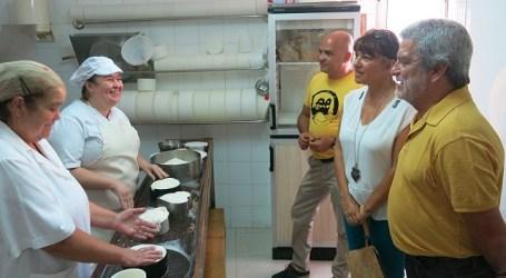 Santa Lucía felicita a la Quesería del Buen Pastor por ser un referente artesano