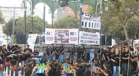 Estudiantes del CEIP Doctoral representan al municipio en Gran Canaria Solidaria