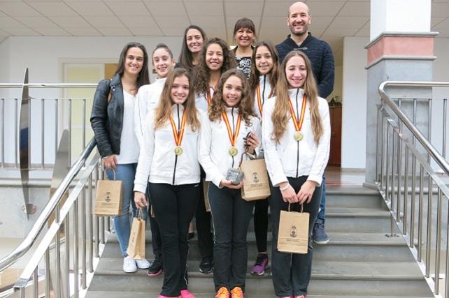 club-praxis-equipo-senior-campeonas-de-españa