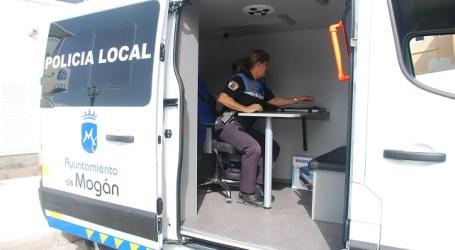 La Policía Local de Mogán estrena vehículo para la unidad de atestados e informes