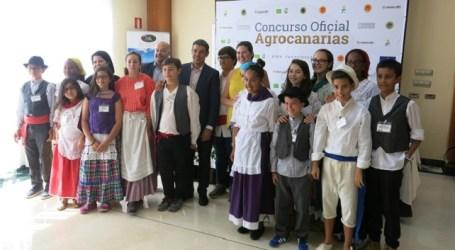 El jurado infantil elige su queso favorito en el Concurso Regional Agrocanarias