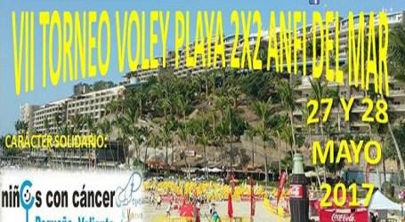 El VII Torneo de Vóley Playa Anfi del Mar se celebrará con carácter solidario
