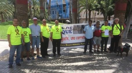 Roque Aldeano duda que se vayan invertir los 30 millones presupuestados en el 2017 para la 2ª fase El Risco-Agaete