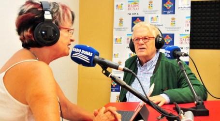 El primer café con Daniela, un programa de Radio Dunas en alemán