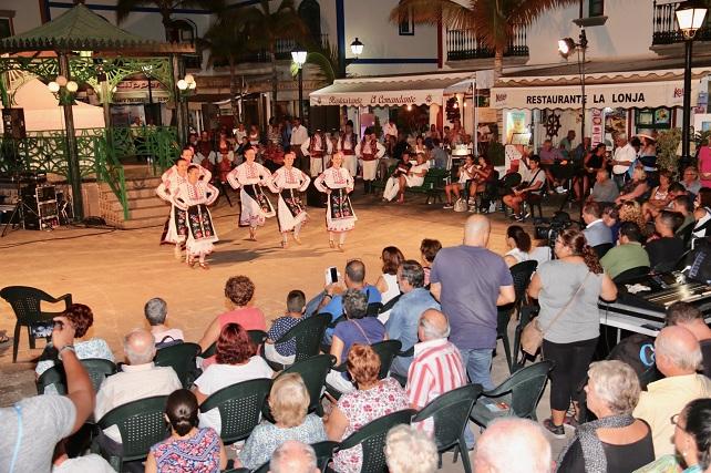 Festival Internacional de Folclore, en Mogán