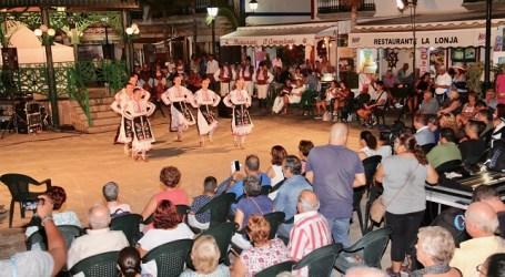 El folclore de Francia, Bulgaria y Senegal abre los actos del Día Mundial del Turismo en Mogán