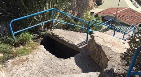 Nueva Canarias exige la reparación inmediata de la escalera de Patalavaca
