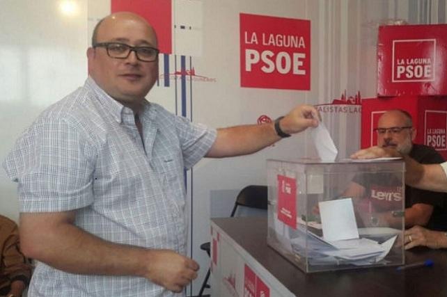 Zebenzuí González, concejal del PSOE en el Ayuntamiento de La Laguna