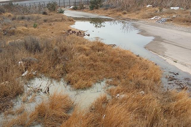 Barranco del Polvo, vertidos