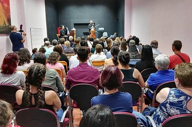 I Stage Gran Canaria Music Excellence, concierto Ángel Luis Quintana