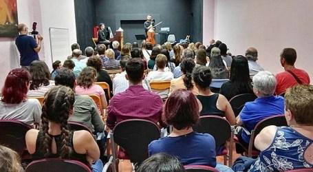 El I Stage Gran Canaria Music Excellence reúne en Santa Lucía a alumnado de Música de toda la isla