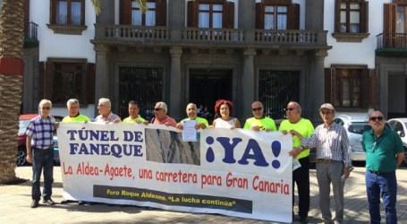 Piden a los gobiernos de España y Canarias que se tomen en serio la terminación de la carretera de La Aldea
