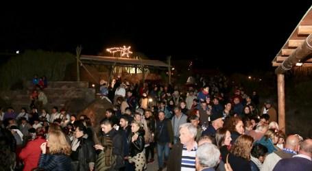 Más de 200 personas recrean la 34 edición del tradicional Belén Viviente Canario de Veneguera