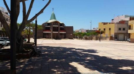 La plaza de la iglesia de El Tablero rejuvenece tras una inversión del Cabildo de 300.000 euros