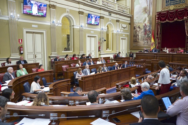 Parlamento de Canarias, pleno