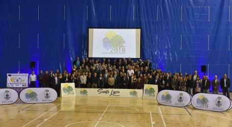 Santa Lucía celebra con la comunidad social y deportiva el título de Ciudad Europea del Deporte