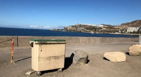 El Ayuntamiento de Mogán vacía el contenedor de basura tras la denuncia del PP