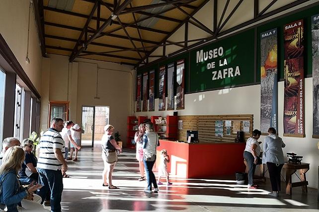 Museo La Zafra, turistas