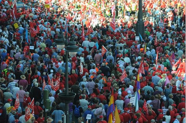 Manifestación por las pensiones dignas