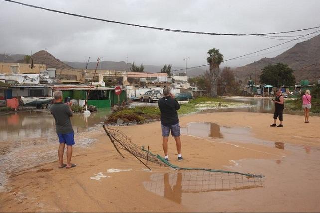 Playa de Tauro, temporal