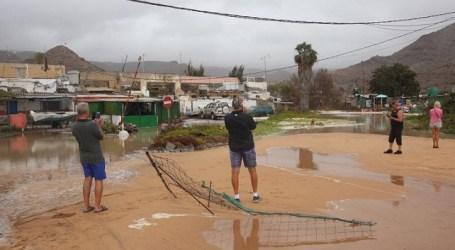 Crece la preocupación entre los vecinos de Tauro por los efectos del temporal en sus viviendas