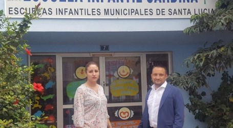 UxGC Santa Lucía solicita la reapertura de la Escuela Infantil de Sardina