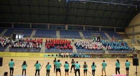 Más de 400 mayores participan en el II Encuentro Insular de Actividad Física