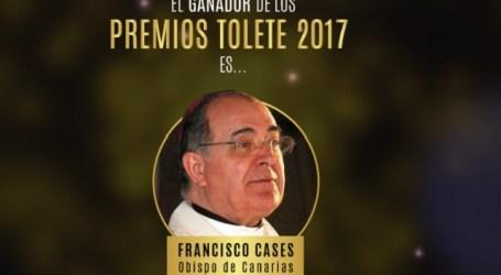 El obispo de Canarias, premio Tolete 2017 por sus declaraciones tras la actuación de Drag Sethlas