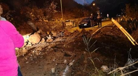 El PP reclama un estudio urgente de los taludes y laderas de la carretera entre El Pajar y la presa de Soria