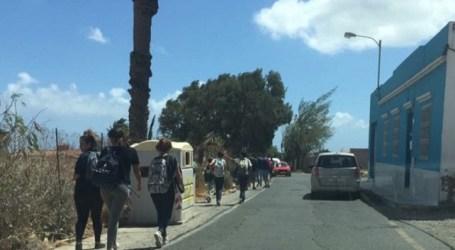 UxGC en Santa Lucía denuncia el peligro de la calle El Romeral al no tener acera