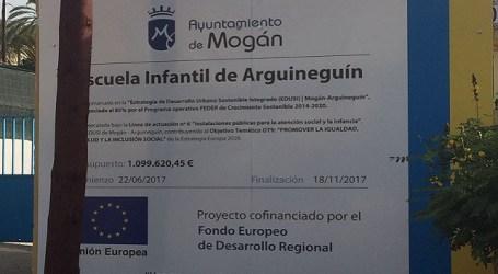 El bipartito Ciuca-PSOE obligado a licitar nuevamente la Escuela infantil de Arguineguín