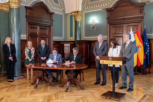 Mariano Rajoy y Román Rodríguez