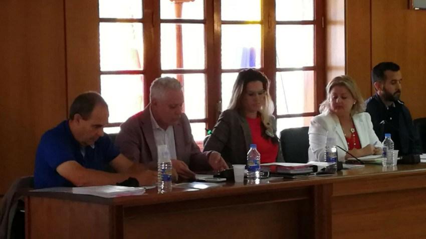 Pleno ordinario, UxGC y PSOE