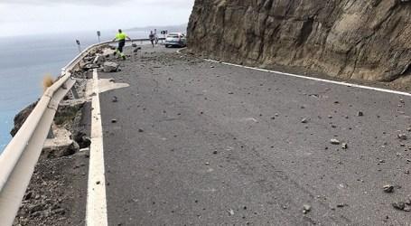 Roque Aldeano advierte que las obras El Risco-Agaete incrementarán el peligro de la carretera