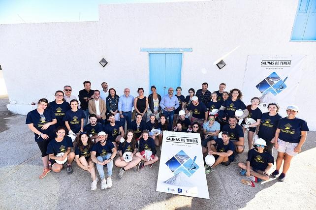 Salinas de Tenefé, jóvenes de autonomías