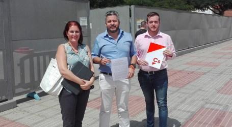 Ciudadanos denuncia el abandono y las serias deficiencias que sufre Castillo del Romeral